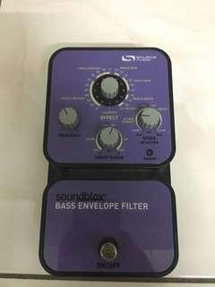 Soundblox Bass Envelope Filter Pedal
