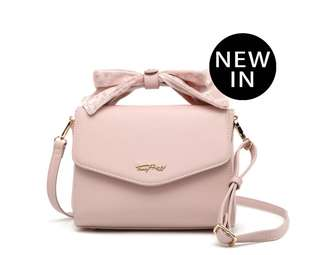 [PRE-ORDER]100% AUTHENTIC Fancy Bow Bow Top Handle Shoulder Bag