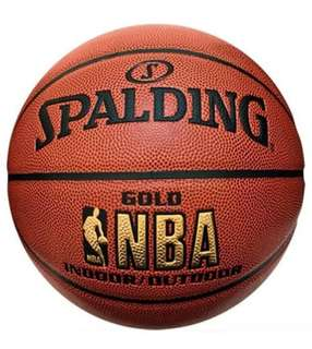 Spalding Gold Indoor/Outdoor Basketball