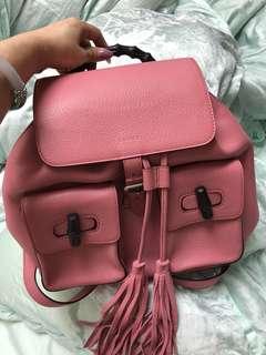 💗可愛粉紅💗Gucci背囊💗