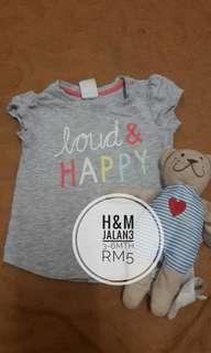 H&M baby tshirt