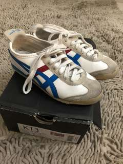 Onitsuka mexico for kids sz 31,5 (19,5 cm) with box