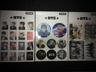 BTS stamp sticker