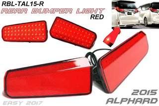 alphard bumper lamp