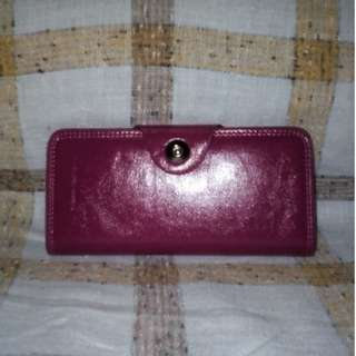 Pink Leatherette Wallet