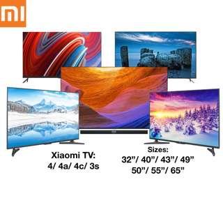 TV Xiaomi 4K Android Smart TV Frameless Latest Models