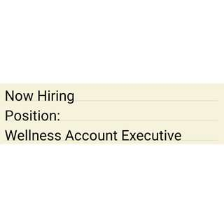 Wellness Account Executive