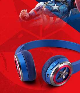 Original Marvel Captain America Headphones