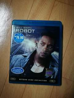I robot blu ray disc