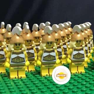 (NEW) LEGO 71007 CMF Series 12 - Battle Goddesses x 25 (ARMY Building)