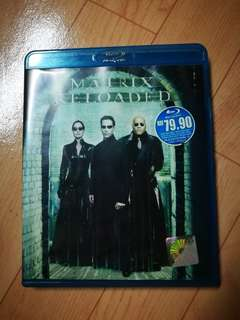 Matrix reload blu ray