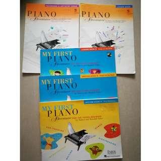piano book--piano adventures