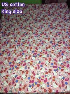 Bed sheet US cotton King