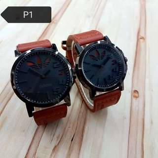 PUMA , JORDAN , ADIDAS COUPLE SET WATCHES