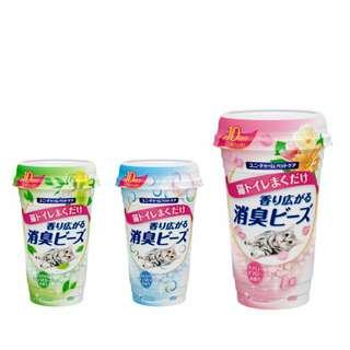 日本Unicharm 貓砂除臭香味珠
