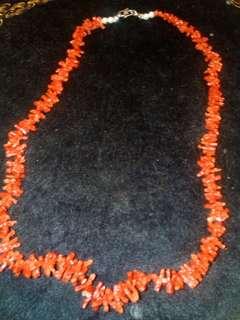 🚚 紅珊瑚項鍊