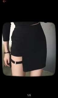 暗黑系 圓環短裙 M號 #一百元好物 #幫舊愛找新家