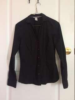 Black Dress Shirt from H&M