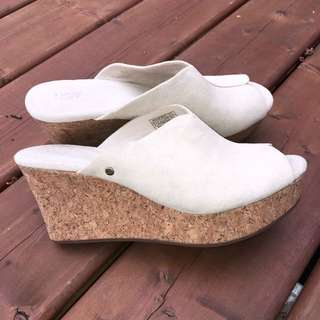 New Ugg wedges (size 7)