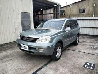 實車實價 2005 日產 X-翠 2.0 可全額貸
