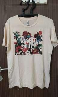 Kaos band Washed Out original american apparel