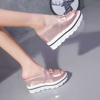 Casual Wedges 10cm