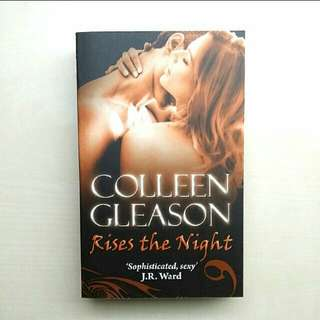 TO BLESS: Free Book Rises The Night Vampire Novel BY Colleen Gleason, The Gardella Vampire Chronicles Book, #BLESSINGS