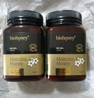 🚚 【預購】效期:2022.5【500g】紐西蘭Biohoney Manuka Honey(MG 300+mg/kg)