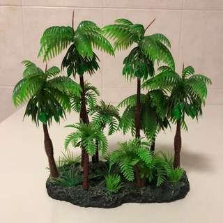 Plastic Coconut Trees (for aquarium display)