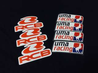 STICKER UMA RACING OFFICIAL / RACING BOY