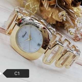 CHOPARD AND BONIA LADIES WATCHES