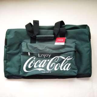 Coca Cola Green Boston Travel Bag