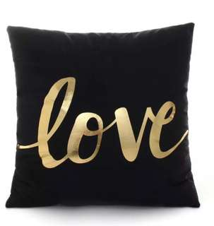 Brand New Gold Foil Printing Cushion Covers Without Inserts