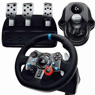 Logitech G29 with Shifter