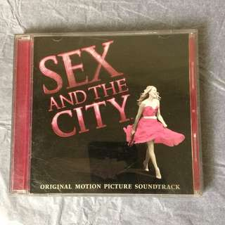 Sex & The City OST CD
