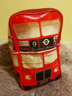 Children's Routemaster Bus Shaped Backpack
