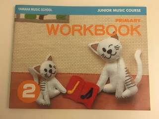 Yamaha Junior Music Course (Primary Workbook 2)
