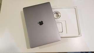 🚚 保固很長 2017客製 Touch Bar Macbook Pro 13吋 8G/512G 灰色 全機包膜保固到2020