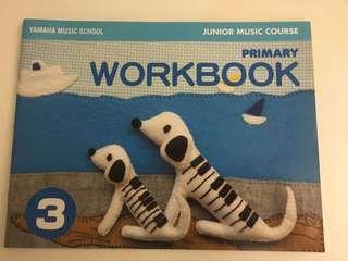 Yamaha Junior Music Course (Primary Workbook 3)