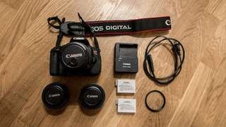 Canon T4i (650D) | 24mm, 40mm, 18-55mm Lenses & Extra Battery
