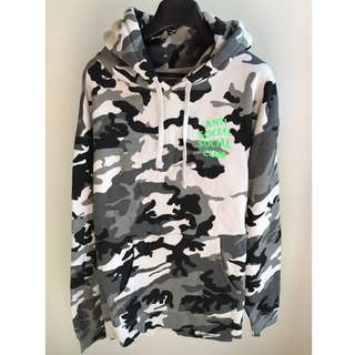 ASSC Frozen Snow Camo Hoodie - (Lucid Dreams Green)