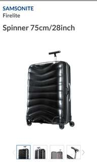 Samsonite Luggage 28inch firelite. American tourister polo universal traveller holidays suitcase bag lv