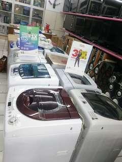 Mesin Cuci Berbagai Merk Bisa Kredit Tanpa DP