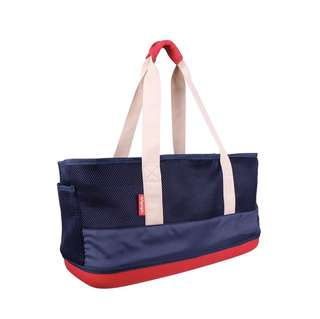 IBIYAYA BREATHABLE CARRIER FOR DACHSHUND (NAVY BLUE) (48 x 20 x 27 cm)