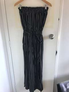 Glassons strapless jumpsuit