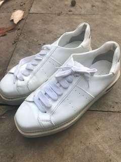 Alexander McQueen Platform Sneakers White