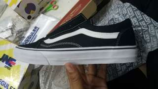 Vans oldskool old skool black white bw original