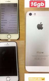 IPHONE 5S SILVER (16GB)