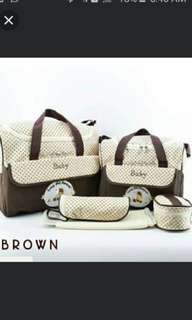 5 pcs 1set  bag mama