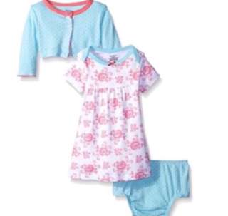*12M* BN Gerber Baby Girls' Cardigan and Dress Set For Baby Girl